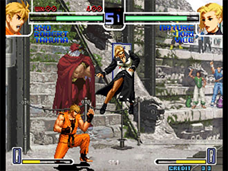 Pantallazo del juego online The King of Fighters 2002 Challenge to Ultimate Battle (NeoGeo)