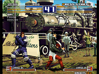 Pantallazo del juego online The King of Fighters 2003 (NeoGeo)