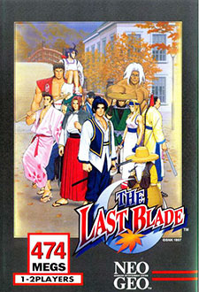 Portada de la descarga de The Last Blade