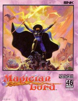 Carátula del juego Magician Lord (NeoGeo)