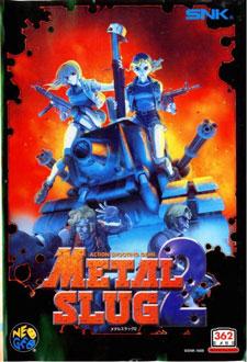 Carátula del juego Metal Slug 2 (NeoGeo)