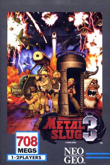 Portada de la descarga de Metal Slug 3