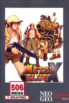 Portada de la descarga de Metal Slug X – Super Vehicle-001