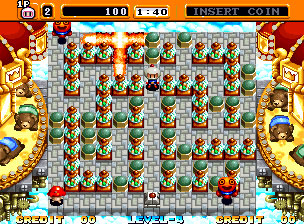 Pantallazo del juego online Neo Bomberman (NeoGeo)