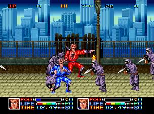 Pantallazo del juego online Ninja Combat (NeoGeo)