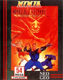 Portada de la descarga de Ninja Commando