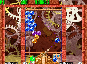 Pantallazo del juego online Puzzle Bobble 2 (NeoGeo)