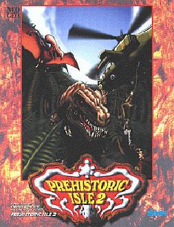 Carátula del juego Prehistoric Isle 2 (NeoGeo)