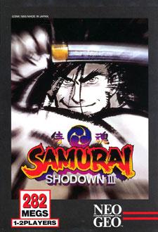 Portada de la descarga de Samurai Shodown III