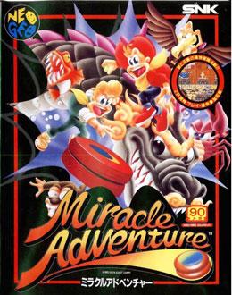 Carátula del juego Spin Master (NeoGeo)