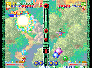 Pantallazo del juego online Twinkle Star Sprites (NeoGeo)