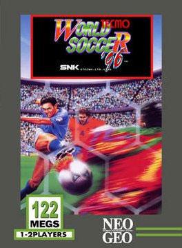 Carátula del juego Tecmo World Soccer 96 (NeoGeo)