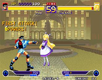 Pantallazo del juego online Waku Waku 7 (NeoGeo)