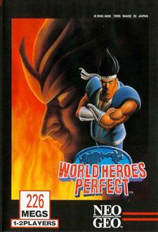 Portada de la descarga de World Heroes Perfect