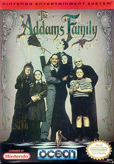 Portada de la descarga de The Addams Family