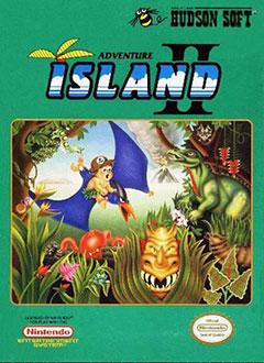 Carátula del juego Adventure Island II (NES)