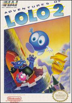 Juego online Adventures of Lolo 2 (NES)