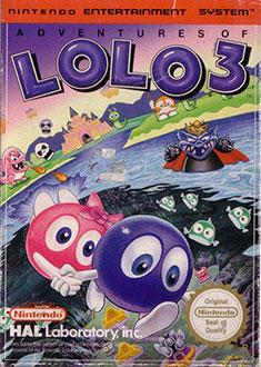 Carátula del juego Adventures of Lolo 3 (NES)