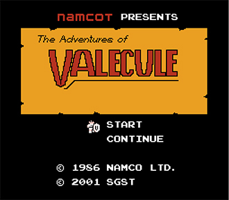 Portada de la descarga de Adventures of Valecule