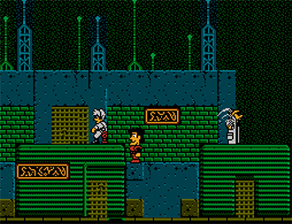 Pantallazo del juego online The Adventures of Rad Gravity (NES)
