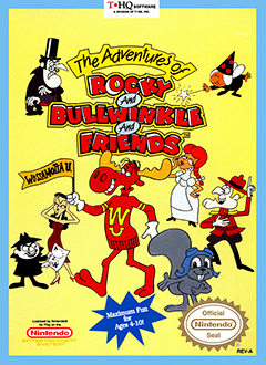 Portada de la descarga de The Adventures of Rocky and Bullwinkle and Friends