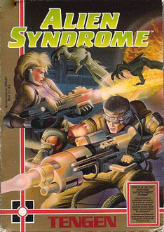 Juego online Alien Syndrome (NES)