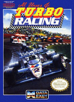 Portada de la descarga de Al Unser Jr's Turbo Racing