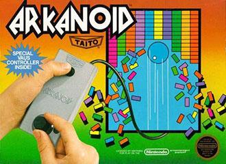 Carátula del juego Arkanoid (Nes)