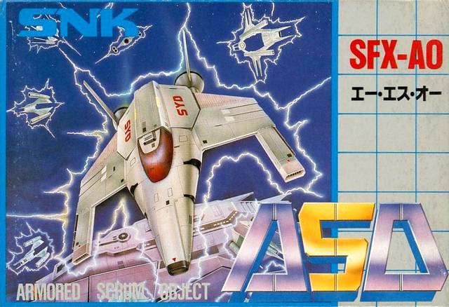 Juego online ASO: Armored Scrum Object (NES)