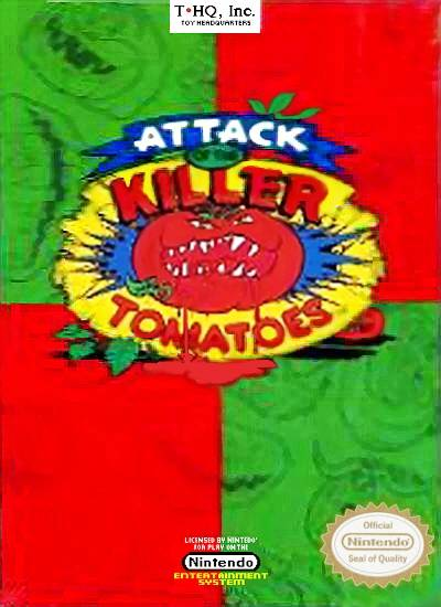 Portada de la descarga de Attack of the Killer Tomatoes