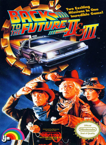 Juego online Back to the Future Part II & III (NES)