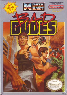 Portada de la descarga de Bad Dudes
