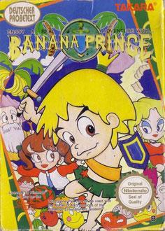 Portada de la descarga de Banana Prince
