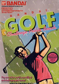 Portada de la descarga de Bandai Golf: Challenge Pebble Beach