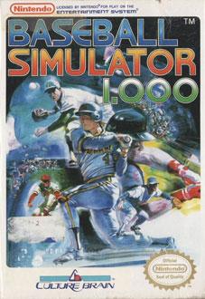 Portada de la descarga de Baseball Simulator 1000