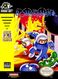 Portada de la descarga de Bomberman II