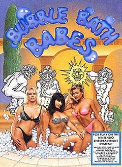 Carátula del juego Bubble Bath Babes (NES)