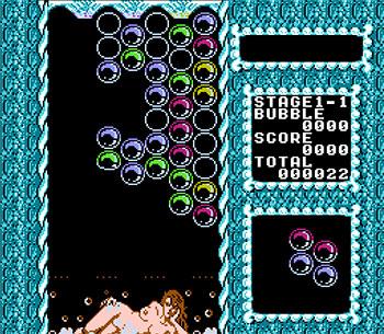 Pantallazo del juego online Bubble Bath Babes (NES)