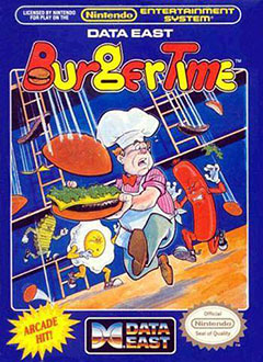 Portada de la descarga de BurgerTime