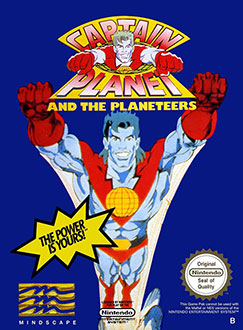 Juego online Captain Planet and the Planeteers (NES)