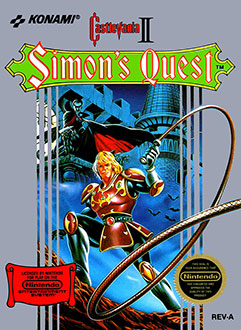 Portada de la descarga de Castlevania II: Simon's Quest