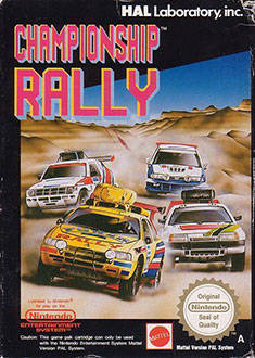 Juego online Championship Rally (NES)