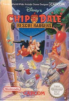 Juego online Disney's Chip 'N Dale: Rescue Rangers (NES)