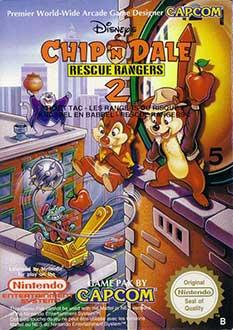 Portada de la descarga de Disney's Chip 'N Dale: Rescue Rangers 2