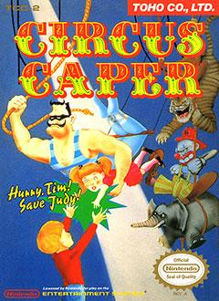 Portada de la descarga de Circus Caper