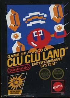 Portada de la descarga de Clu Clu Land