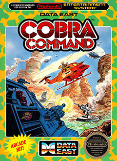 Juego online Cobra Command (NES)