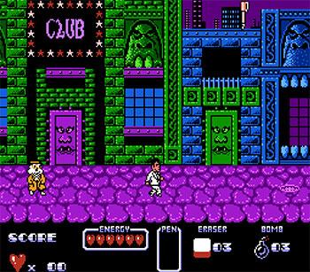 Pantallazo del juego online Cool World (NES)