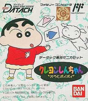 Juego online Crayon Shin-Chan: Ora to Poi Poi (NES)