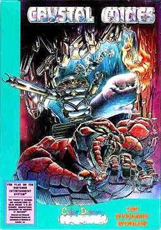 Carátula del juego Crystal Mines (NES)